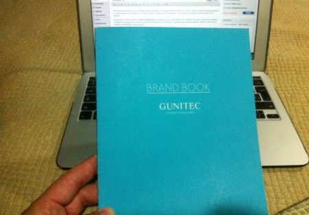 lucas gisbert, brand book, gunitec, colombia