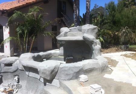 """""""spa con rocas artificiales"""""""