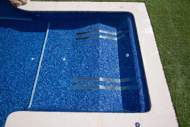 Zona masaje para piscina