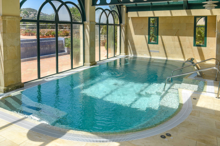 marriotlasella 856x570 Renovación piscina en Hotel Marriott La Sella Golf Resort & Spa.