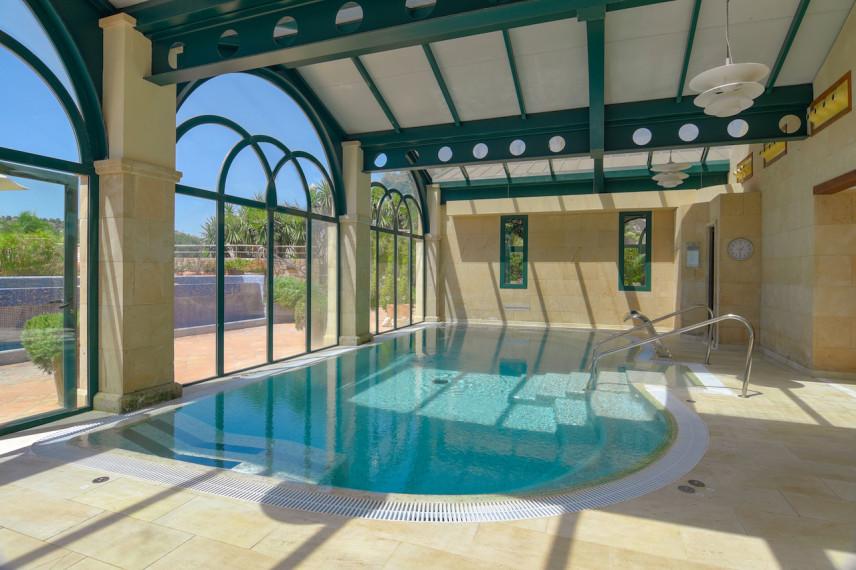 piscinaspa 856x570 Renovación piscina en Hotel Marriott La Sella Golf Resort & Spa.