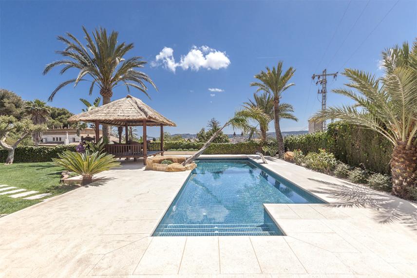 piscinas gunitec 856x571 Piscina reformada en Javea.
